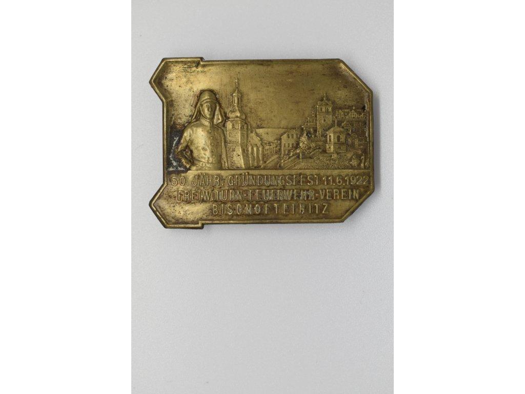 50. Výročí založení dobrovolného hasičského sboru Horšovský Týn 1922