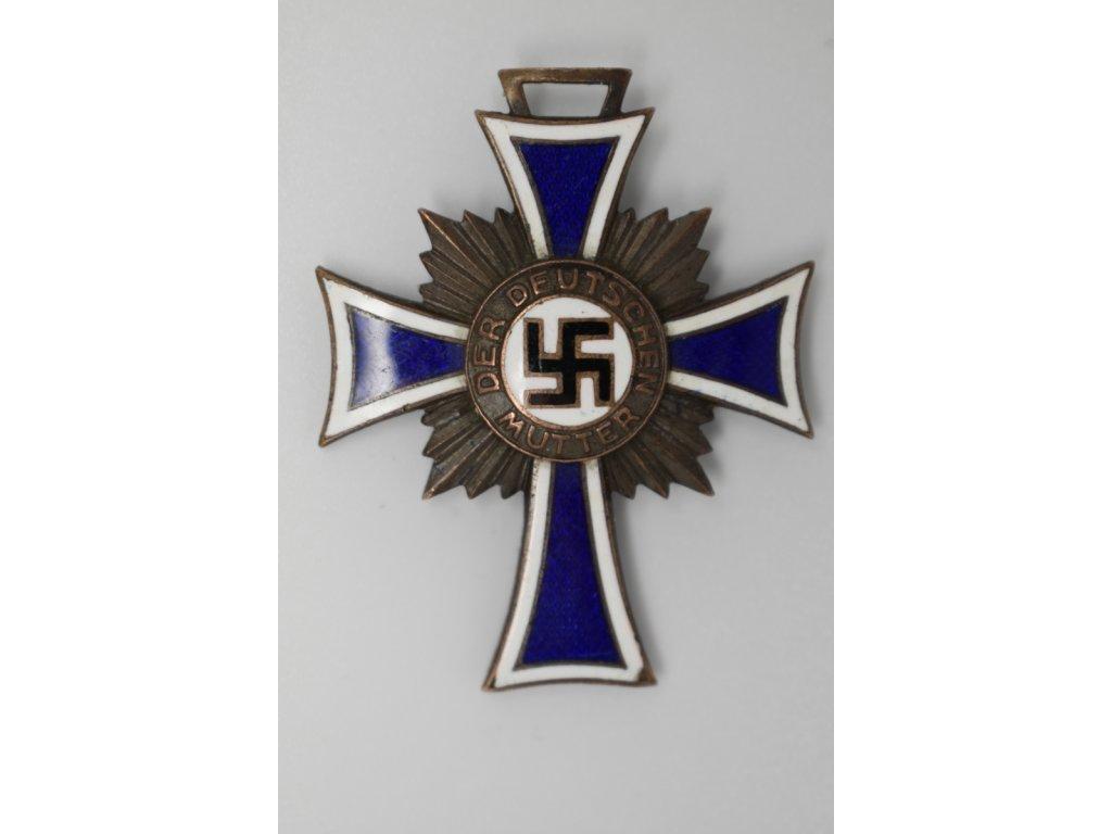 Čestný kříž německé matky (bronz)