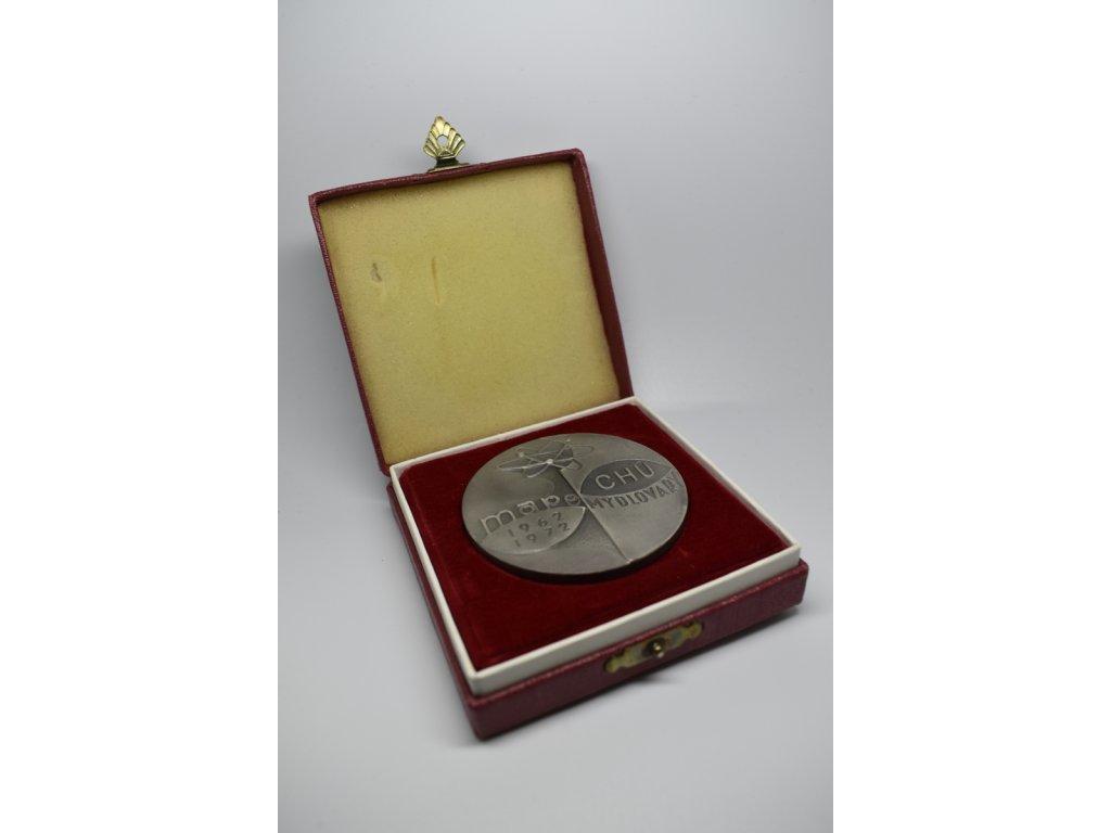 Chemické úpravny uranového průmyslu Mape Mydlovary - Čestné uznání 1972, Bódi