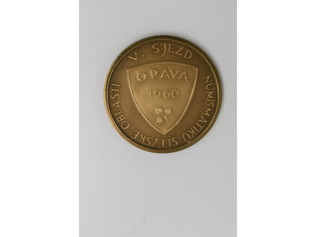V. Sjezd numismatiků slezské oblasti Opava 1960, Šlosar