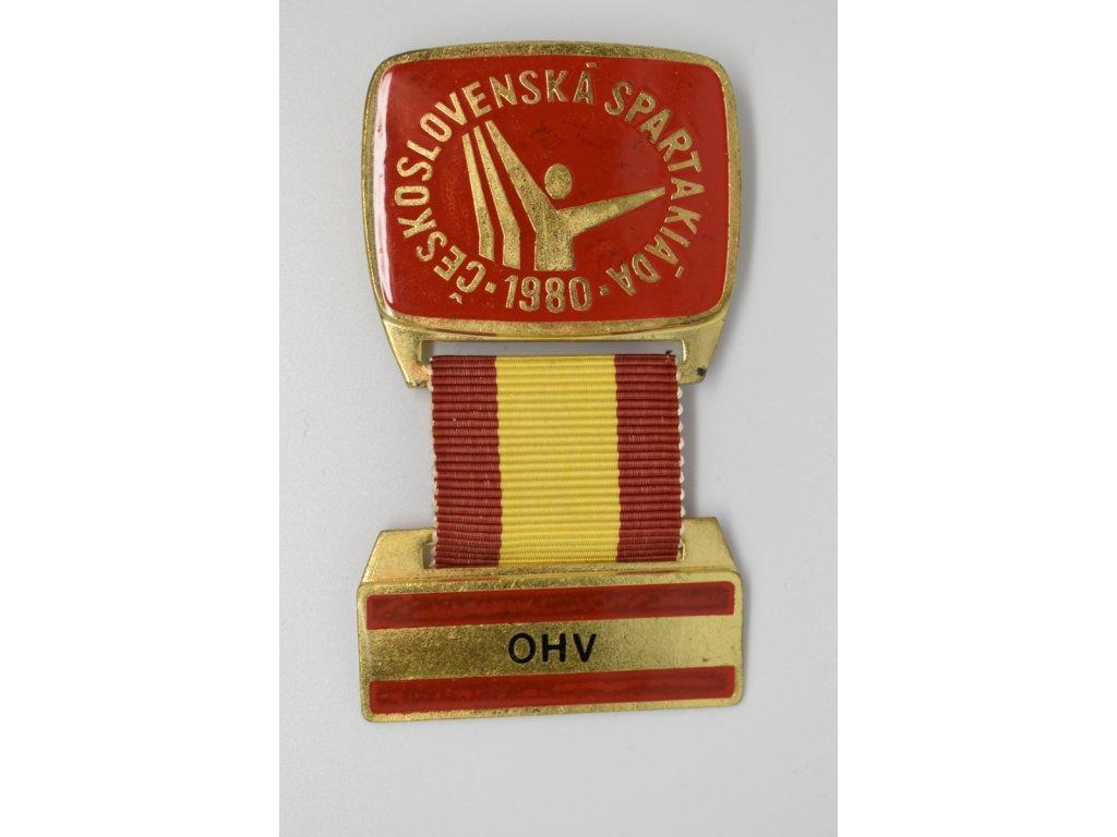 Spartakiáda 1980 - Odbor hromadných vystoupení OHV