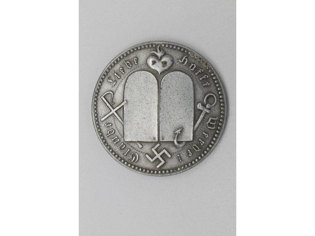 Nacistická medaile k narození dítětě
