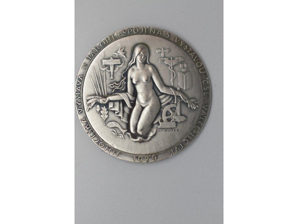 Jihočeská výstava v Táboře spojená s výstavou čsl. válečnictví 1929, Dušek
