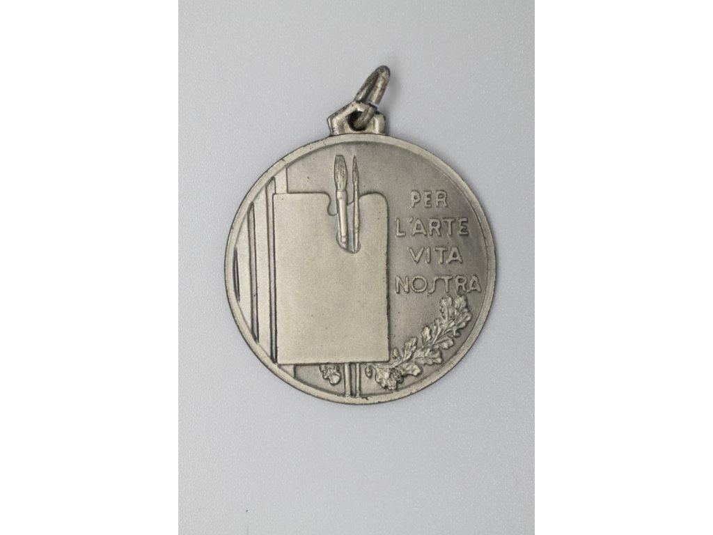 Stříbrná medaile v souteži Cardo d'Argento za obraz Běhařovice A. F. Stehlíkovi, 1968