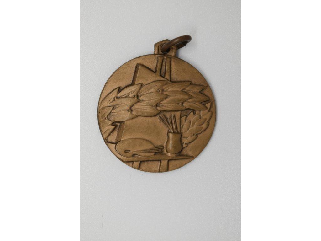 Bronzová medaile A. F. Stehlíkovi, 1968