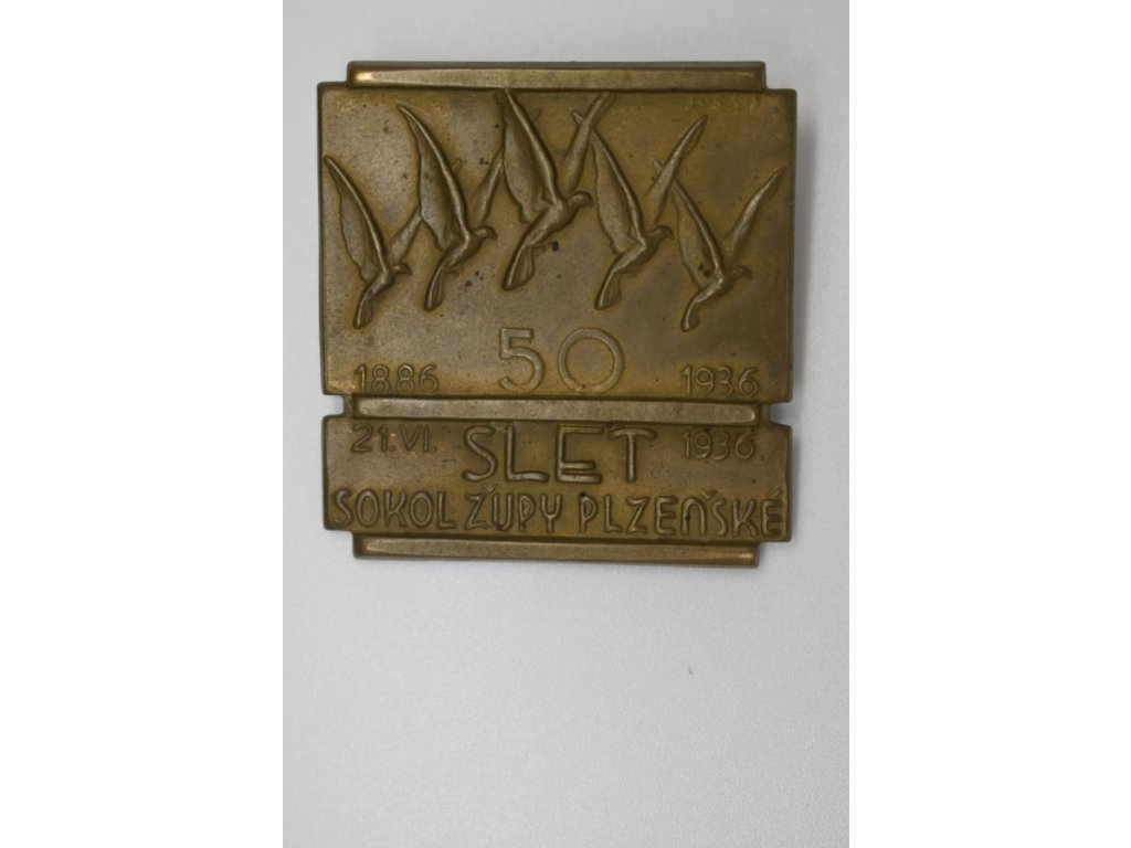 50 let sokolské župy Plzeňské 1936