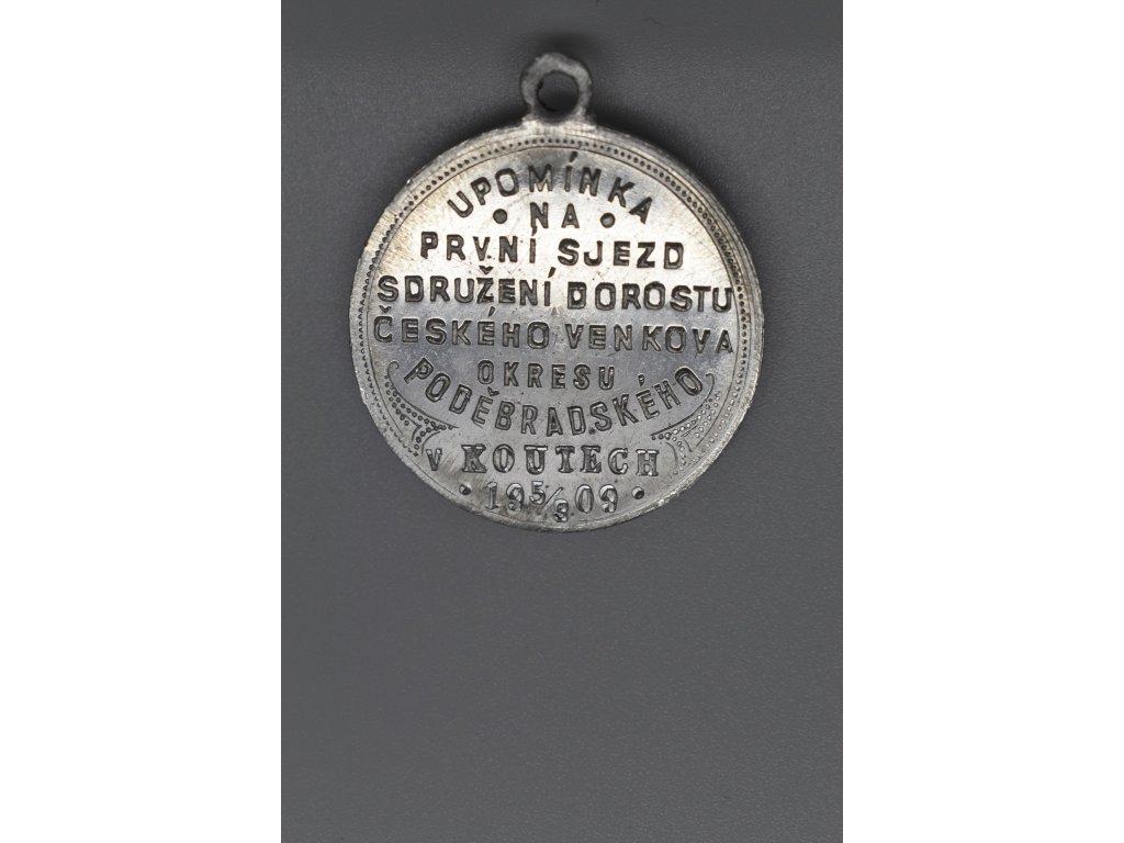 První sjezd dorostu českého venkova v Koutech 1909