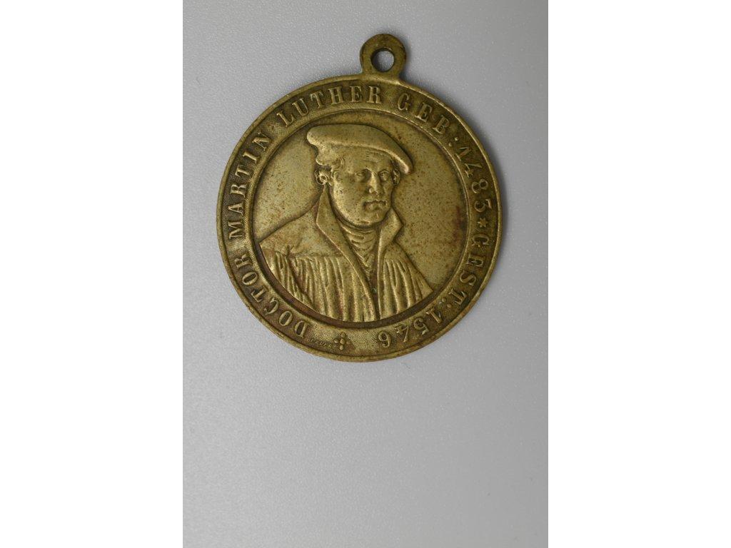 Výročí 400 let narození Martina Luthera 1883, Lauer