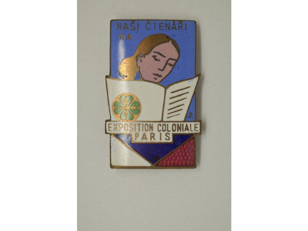 Naši čtenáři na Exposition coloniale Paris 1931
