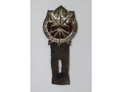 Kapsový odznak spojovacího vojska