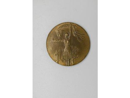 Medaile za vítězství 25mm, A. Odehnal