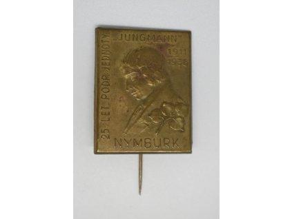 25 let podpůrné jednoty Jungmann Nymburk 1936