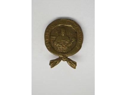 600 let Karlovy university 1948, klopový odznak, Španiel