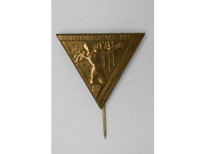 III. Středoškolské hry při IX. Všesokolském sletu 1932, Kužel