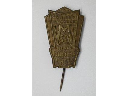 II. Slavnost mládeže Sociální demokracie v Podmoklech 1932