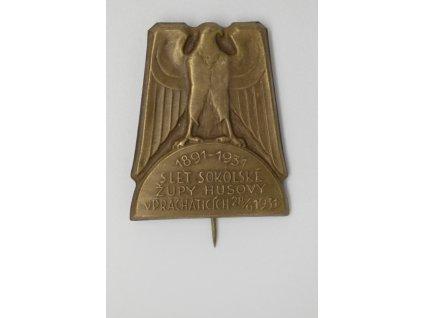 Slet sokolské župy Husovy v Prachaticích 1931