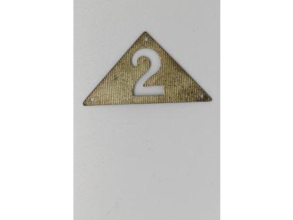 Límcový odznak 2. horské brigády