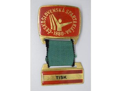 Spartakiáda 1980 - Tisk