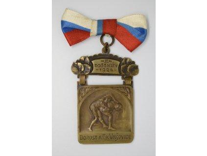 Dorost AFK Vršovice - zápas do 55kg 1924