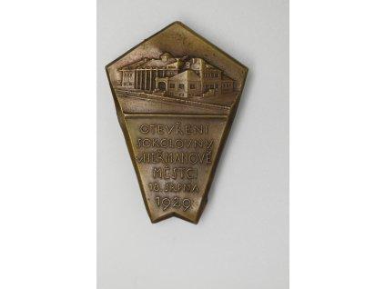 Otevření sokolovny v Heřmanově Městci 1929