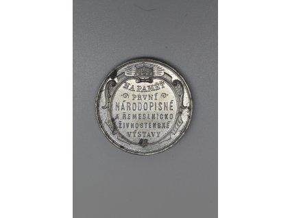 Na pamět první národopisné a řemeslnicko-živnostenské výstavy Smíchov 1893