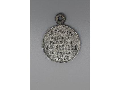 Na památku odhalení pomníku Josefa Jungmanna v Praze 1878