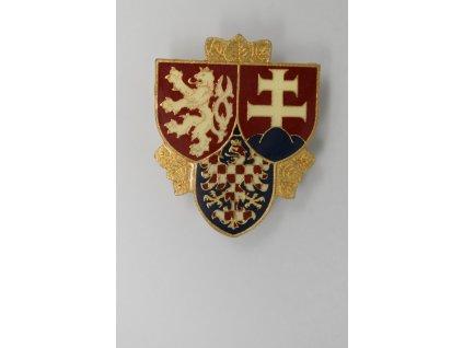 Odznak hradní stráže ČSFR pro důstojníky