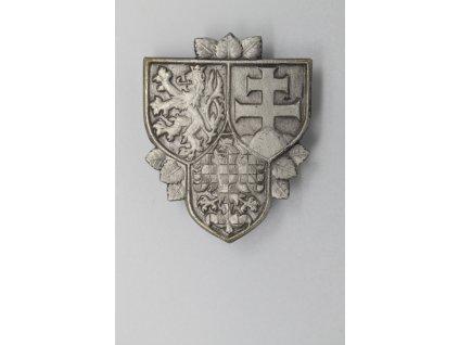 Odznak hradní stráže ČSFR pro praporčíky