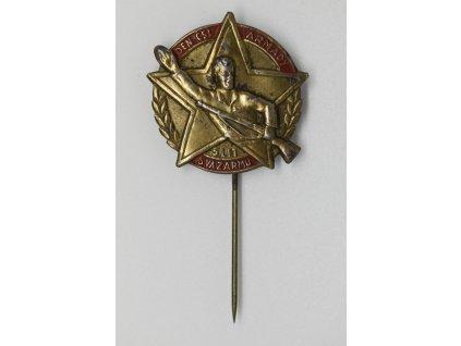 Den československé armády a 5 let Svazarmu 1956