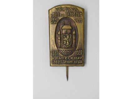 Výstava v Bělé pod Bezdězem v rámci oslav 600 let trvání města 1937