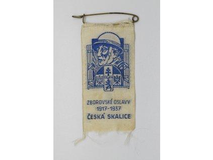 Zborovské oslavy Česká Skalice 1937