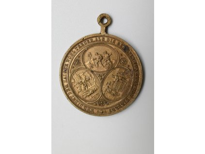 Medaile celním a berním úředníkům za věrné služby císaři Rakouska - Uherska