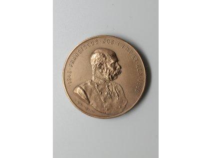 Medaile k výročí 50. let vlády Františka Josefa I. 1898, Marschall