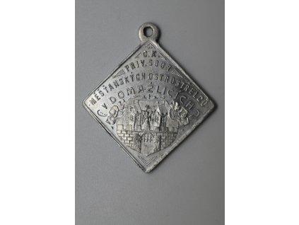 Slavnost 550 let založení císařsko-královských privilegovaných měšťanských ostrostřelců v Domažlicích 1912