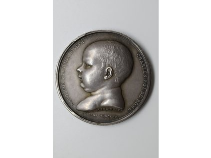 Medaile k narození Napoleona II, krále římského, 1811, Andrieu a Jouannin