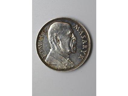 Na paměť 85. narozenin T. G. Masaryka 1935, 32 mm, Španiel