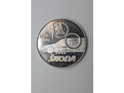100 let automobilky Škoda 1995