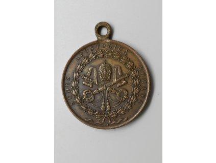 Pamětní medaile k obléhání Říma 1849, Cerbara