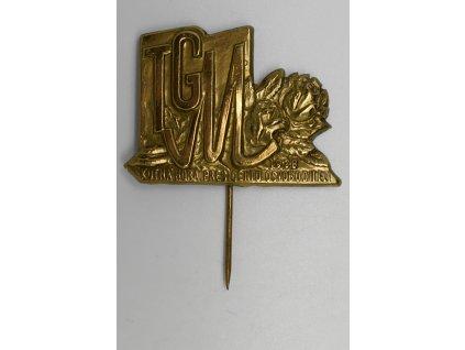 Kutná Hora presidentu osvoboditeli TGM 1938