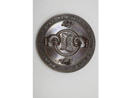 1. Průmyslová výstava Řemeslnicko-živnostenské besedy v Praze 1876, Kříž