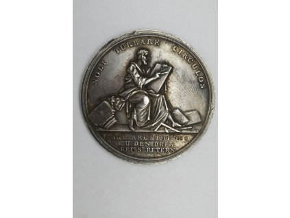 Medaile zednářské lóže Archimedes v Altenburgu, Loos