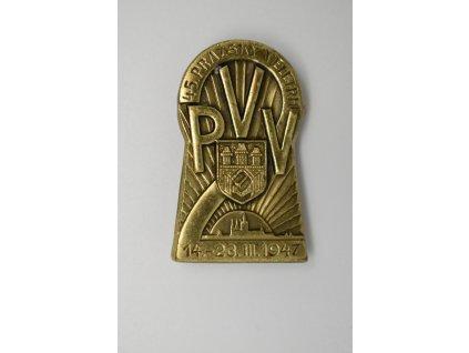 XLV. Pražský vzorkový veletrh 1947