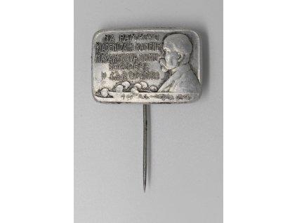 Kladení základního kamene Masarykova domu sociální péče Jaroměř 1924