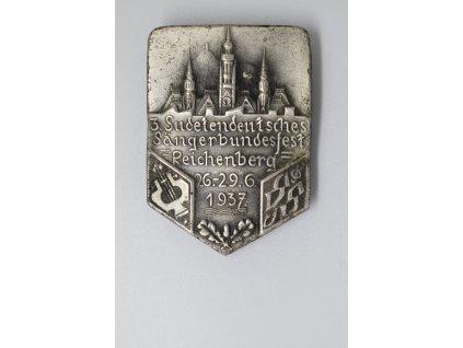 3. sudetoněmecký pěvecký festival Liberec 1937