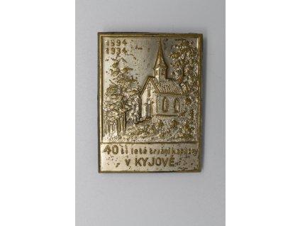 40 let trvání kapličky v Kyjově 1934