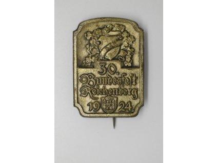 30. německý spolkový sjezd v Liberci 1924