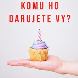 Vyberte si dort nebo dezert jako dárek