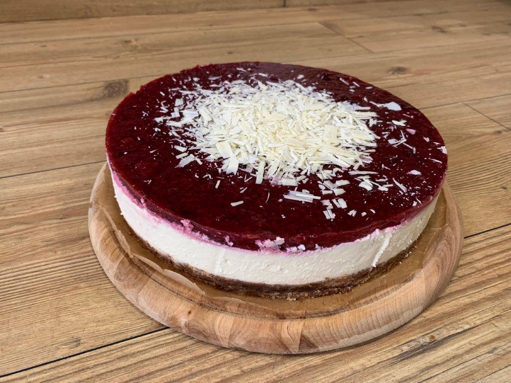 cheesecake malina