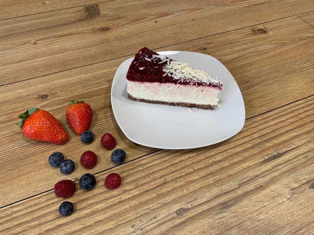malinovy cheesecake klin