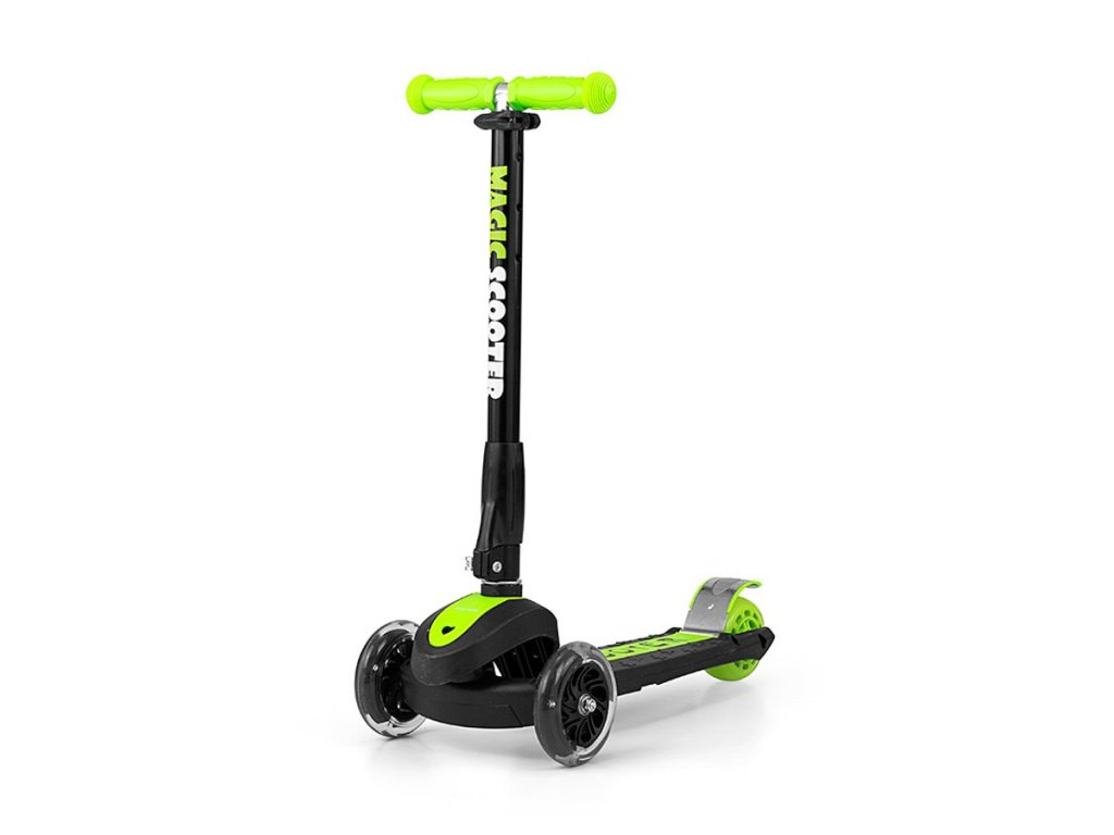 10715 detska kolobezka milly mally magic scooter green